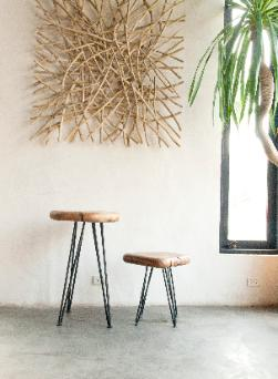 Green Home Decor Natural Wood Furniture Settings By Asian Art Imports