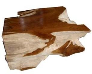 Teak Root Coffee Table made from recycled wood
