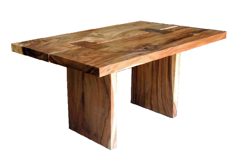 Free edge or live edge tables and straight edge tables for Table table table