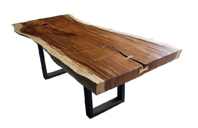 Free Edge Or Live Edge Tables And Straight Edge Tables