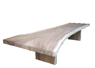 Natural Exotic Wood Tables