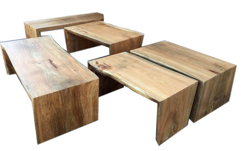tropical hardwood solid coffee tables